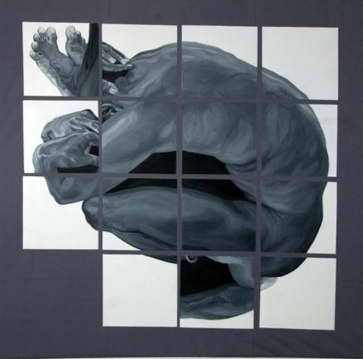 Con i piedi nella testa,version of Fortress,author Maria Cecilia  Martinez Guerrero, Florence, Italy, March 2013