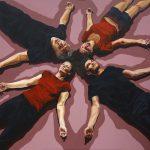 Illusions 11, 120x100cm, acrylic on canvas, 2018