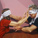 Illusions 2, 120x100cm, acrylic on canvas, 2018