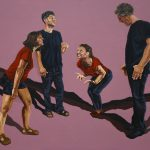 Illusions 3, 120x100cm, acrylic on canvas, 2018