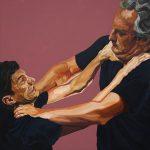 Illusions 7, 100x100cm, acrylic on canvas, 2018
